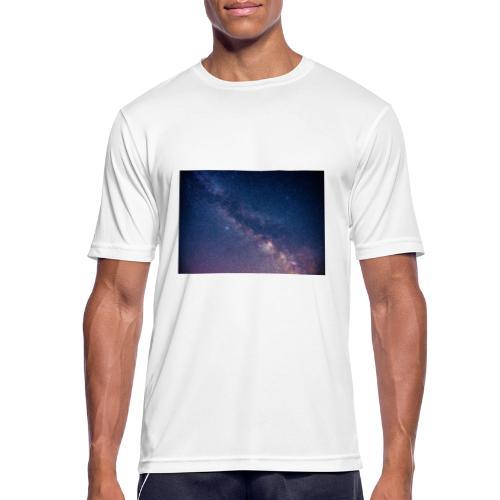 Milchstraße - Männer T-Shirt atmungsaktiv