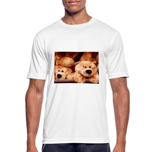 Glücksbären - Männer T-Shirt atmungsaktiv