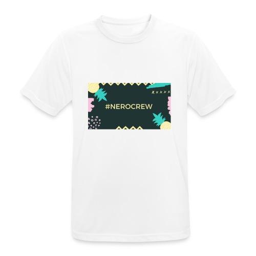 Nerocrew - Männer T-Shirt atmungsaktiv