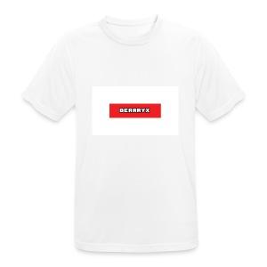 box logo - Pustende T-skjorte for menn