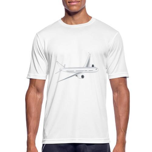 Flugzeug - Männer T-Shirt atmungsaktiv
