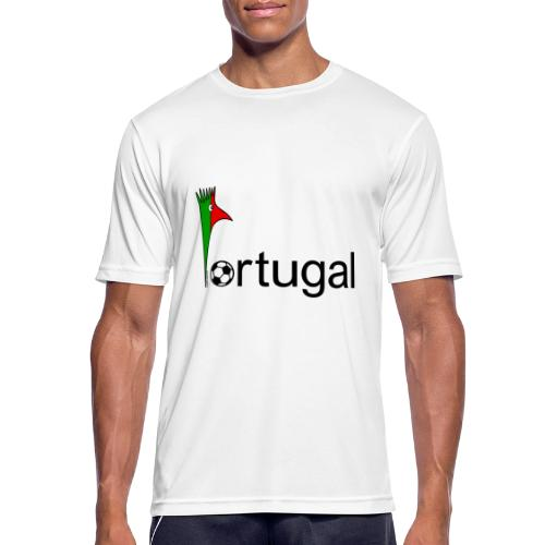 Galoloco Portugal 1 - Männer T-Shirt atmungsaktiv