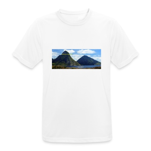 believe in yourself - Men's Breathable T-Shirt