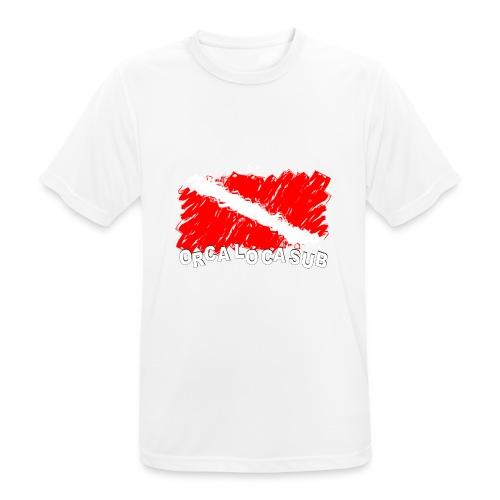 Bandiera Scuba - Maglietta da uomo traspirante