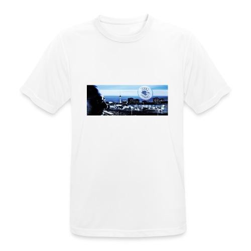 Skyline / Logo Can T - Shirt - Männer T-Shirt atmungsaktiv