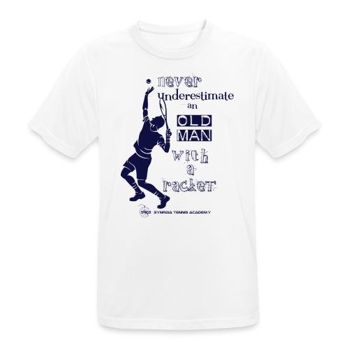 Grafica NEVER - Maglietta da uomo traspirante