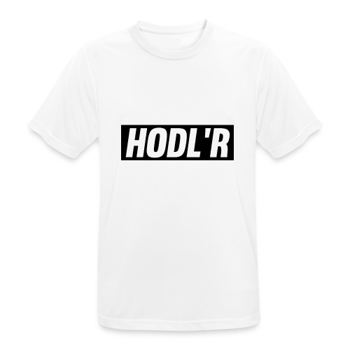HODL'R - For the real crypto fans - Mannen T-shirt ademend actief