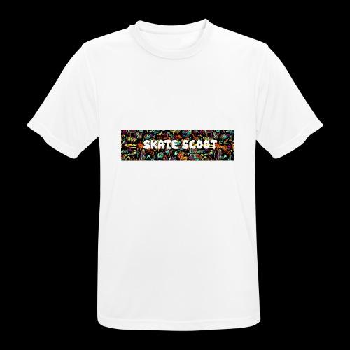funny logo - Mannen T-shirt ademend