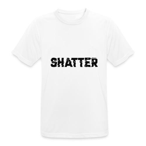 shatter - Männer T-Shirt atmungsaktiv