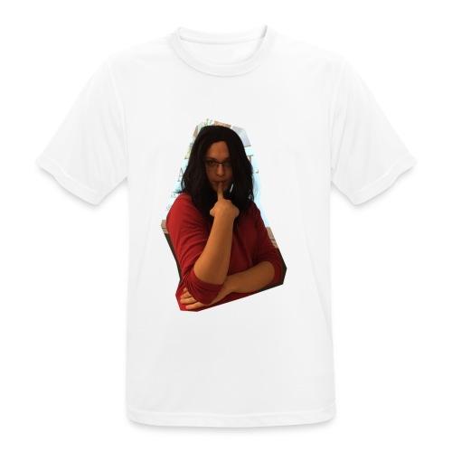 Another extremely attractive shirt - Männer T-Shirt atmungsaktiv