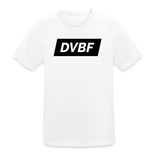 DVBF Svart - Andningsaktiv T-shirt herr
