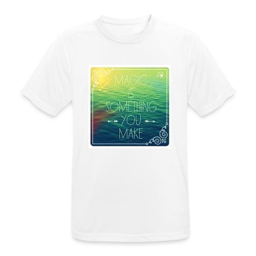MAGIC - Mannen T-shirt ademend