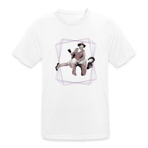 Spanking John Wayne - Männer T-Shirt atmungsaktiv