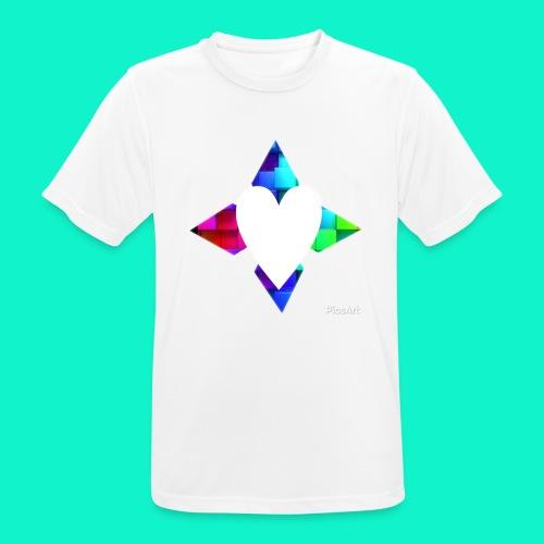 4lof - Mannen T-shirt ademend actief
