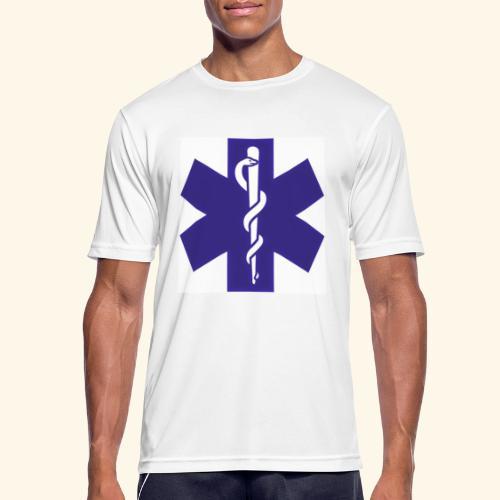 estrella de la vida - Camiseta hombre transpirable