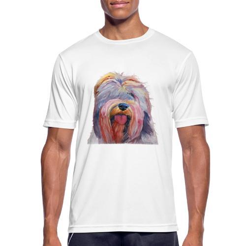 schapendoes - Herre T-shirt svedtransporterende