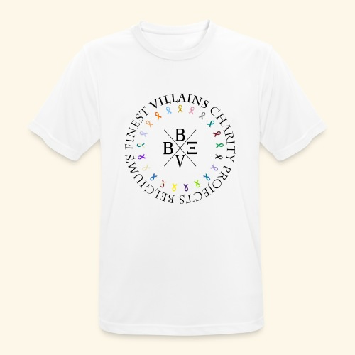 BVBE Charity Projects - Men's Breathable T-Shirt