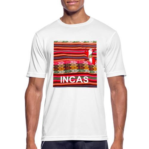 Telar inka Mapa del Peru - Männer T-Shirt atmungsaktiv