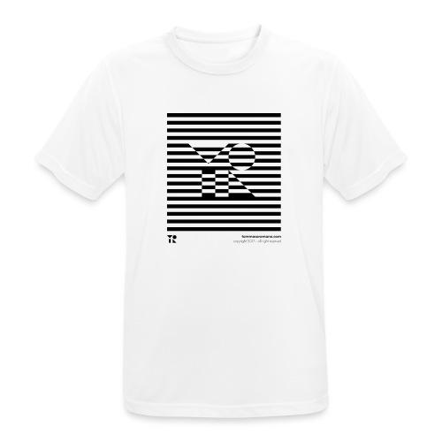 mnmlocked - Maglietta da uomo traspirante
