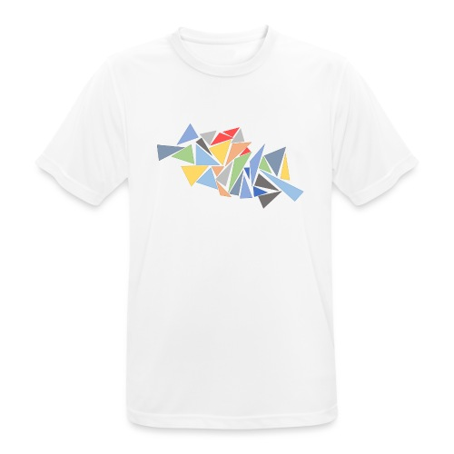 Modern Triangles - Men's Breathable T-Shirt