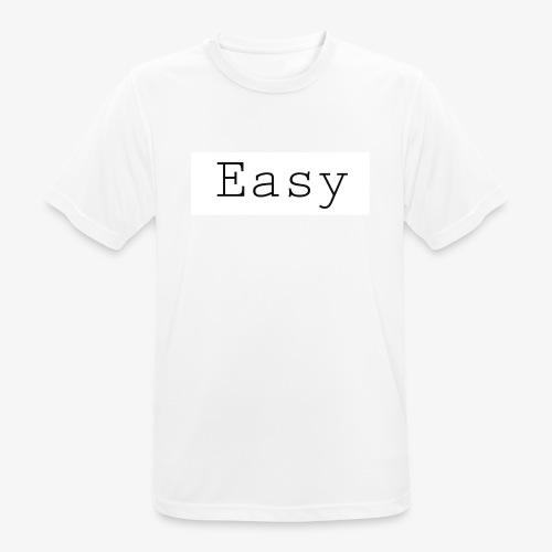 Easy - Maglietta da uomo traspirante