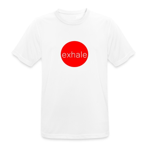 exhale - Men's Breathable T-Shirt