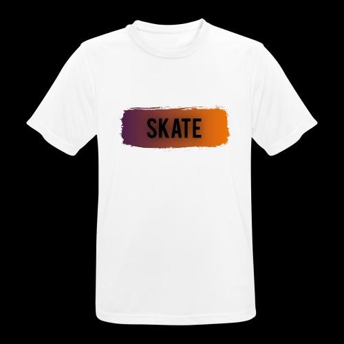 skate brush - Mannen T-shirt ademend actief