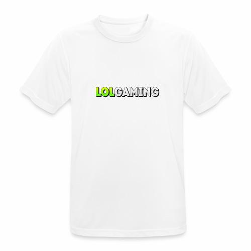 LolGaming - Mannen T-shirt ademend actief