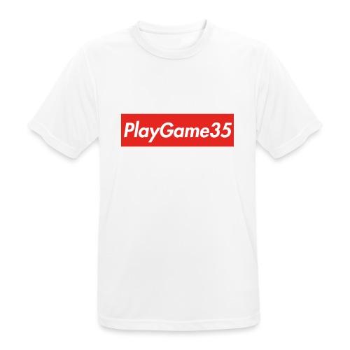 PlayGame35 - Maglietta da uomo traspirante