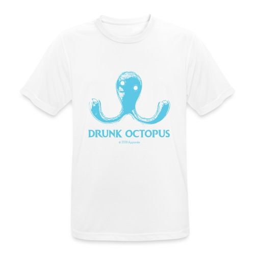 Drunk Octopus - Men's Breathable T-Shirt