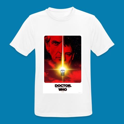 Twelfth Doctor and the Master poster - Maglietta da uomo traspirante
