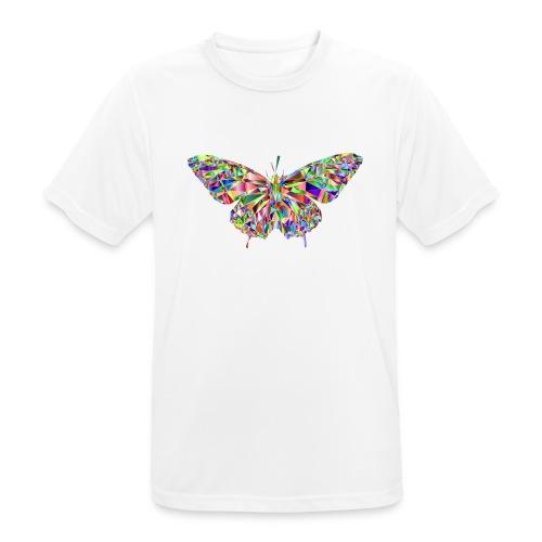 Geflogener Schmetterling - Männer T-Shirt atmungsaktiv