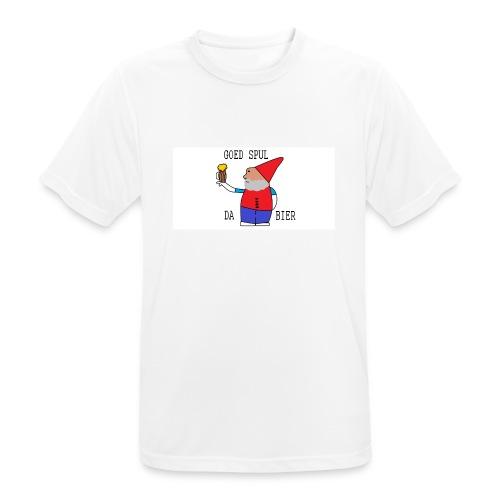 BIER KUT! - Mannen T-shirt ademend actief