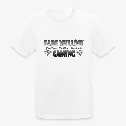 Fade Willow Gaming - Men's Breathable T-Shirt