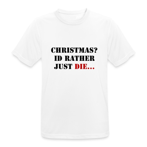 Christmas joy - Men's Breathable T-Shirt
