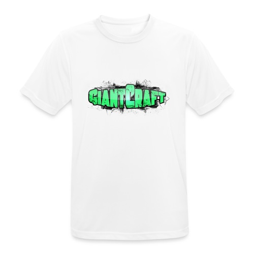 Vandflaske - GiantCraft - Herre T-shirt svedtransporterende
