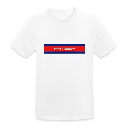 PATSER - Mannen T-shirt ademend actief