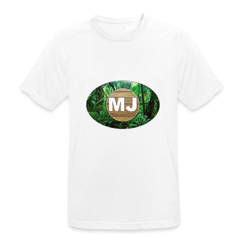 MrJuls Logo - Männer T-Shirt atmungsaktiv