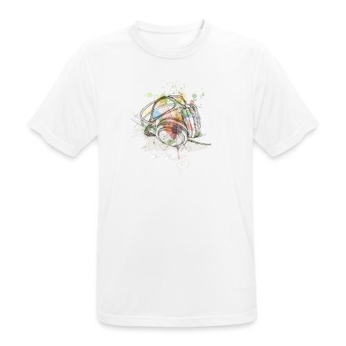 DJ Headphones - Männer T-Shirt atmungsaktiv