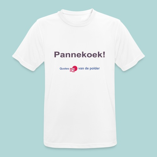 Pannekoek b - Mannen T-shirt ademend actief