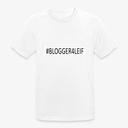 #Blogger4leif - Herre T-shirt svedtransporterende