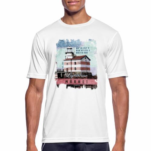 Märket majakkatuotteet, Finland Lighthouse, väri - miesten tekninen t-paita