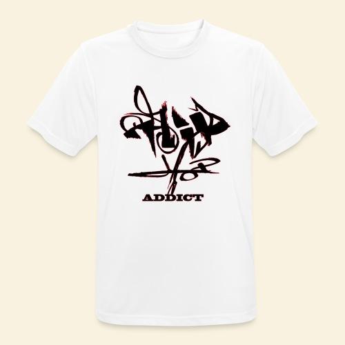 hip hop addict - T-shirt respirant Homme