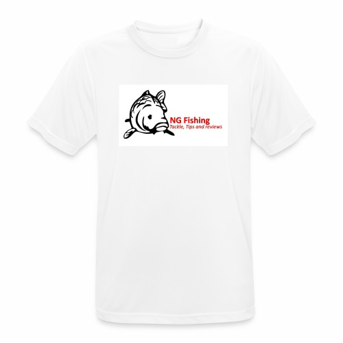 ng fishing logo new - Men's Breathable T-Shirt