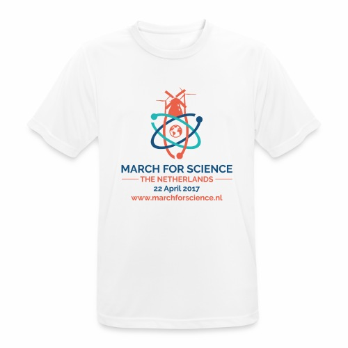 MfS-NL logo light background - Men's Breathable T-Shirt