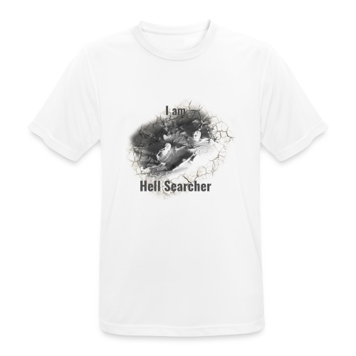 I am Hell Searcher, T-Shirt Women - Men's Breathable T-Shirt