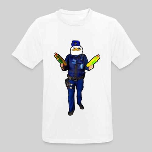 Poliisi-Ankka - miesten tekninen t-paita