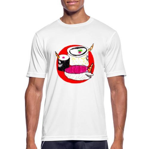 Unicorn Sushi - Men's Breathable T-Shirt