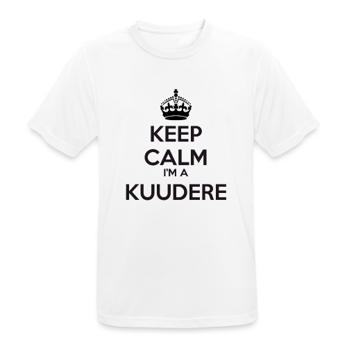 Kuudere keep calm - Men's Breathable T-Shirt