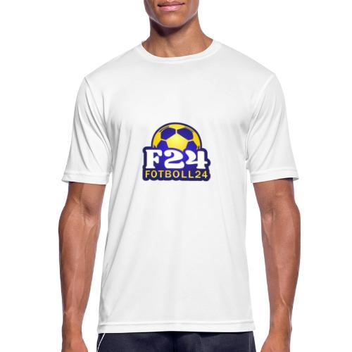 Fotboll24 - Andningsaktiv T-shirt herr